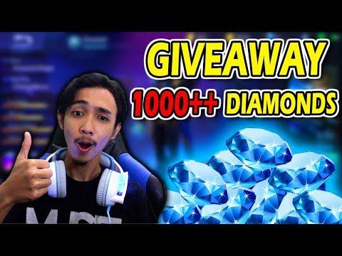 GIVEAWAY 1000++ DIAMONDS SETIAP MINGGU LAGI GUYS! - MOBILE LEGENDS GIVEAWAY #4