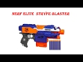 Let's Play Nerf Elite  Stryfe Blaster Review and Firing Test