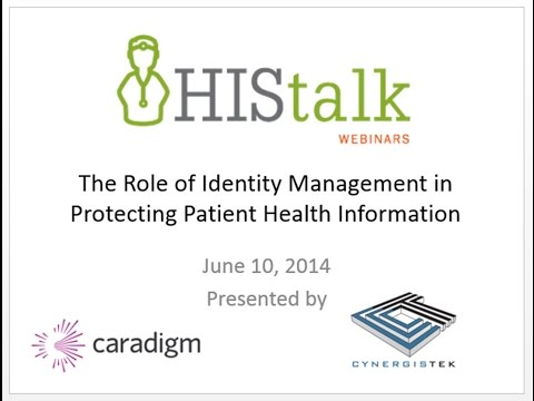The Role of Identity Management in Protecting Patient Health Information