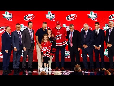 Hurricanes select Andrei Svechnikov 2nd-overall at NHL draft