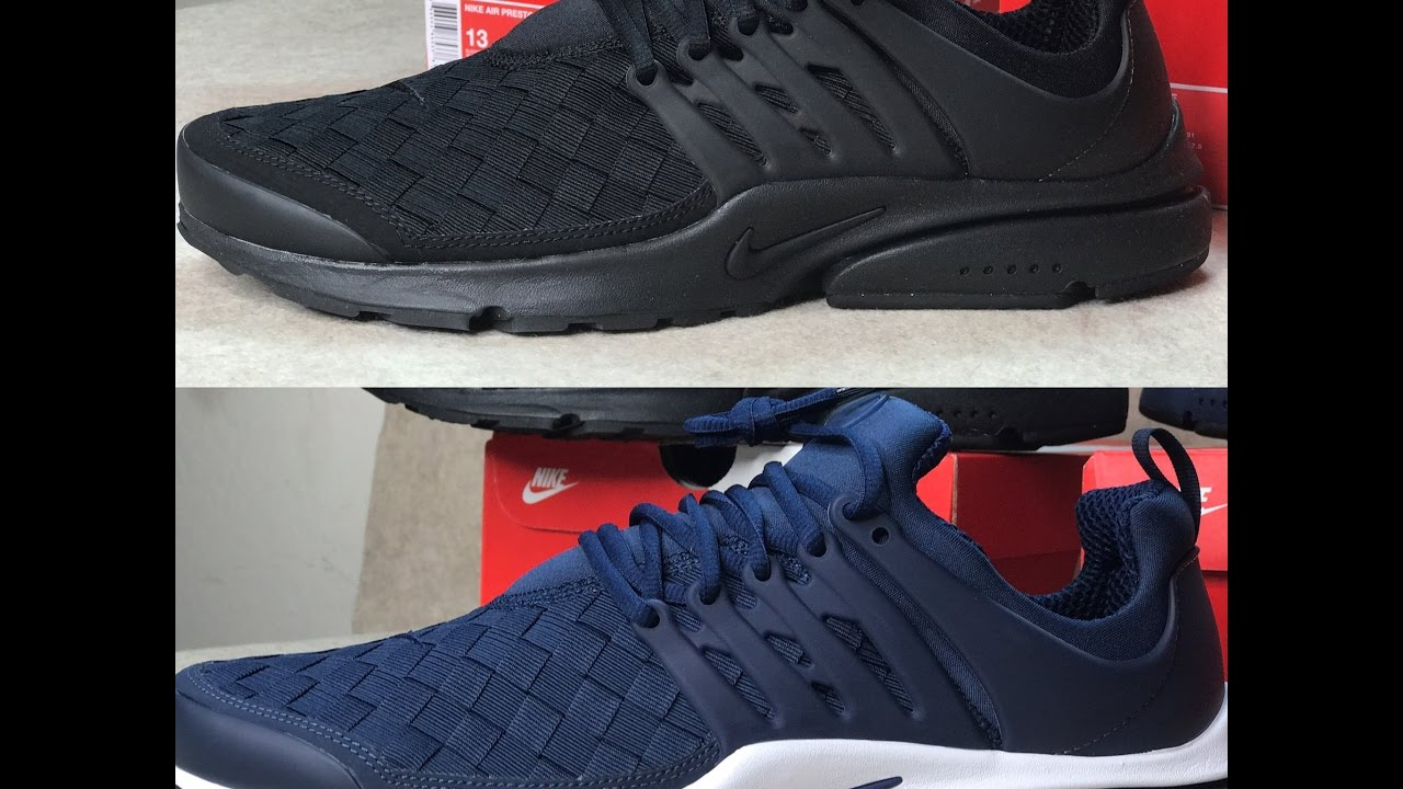b42930f1549 Nike Presto SE Woven Unboxing (Review) - YouTube