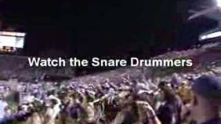 LSU Tiger Band Playing Neck - Best Yet From Band View