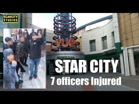 7 Officers Injured In Star City Vue Cinema Violence (Birmingham) #StreetNews