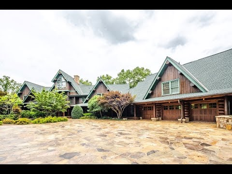 State-of-the-art Log Home - 43 Eagle Rock Rd | Landrum SC - The Cliffs At Glassy