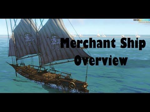 ArcheAge - Merchant Ship Tour/Overview