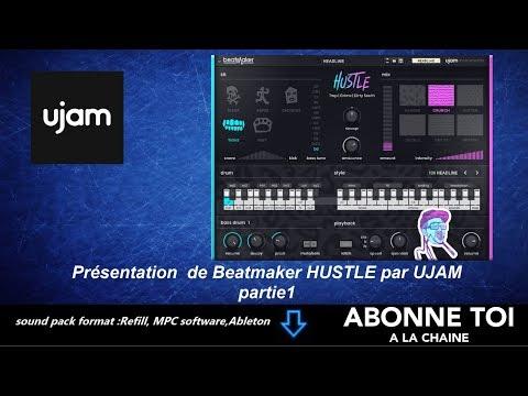 """abc du beatmaking """"propellerheads Présentation  de Beatmaker HUSTLE RE  par UJAM partie1"""""""