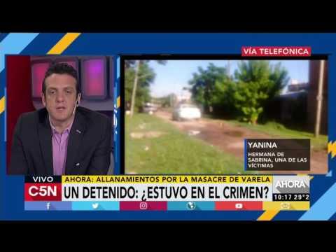 C5N - Masacre de Florencio Varela: Habla Yanina, hermana de Sabrina