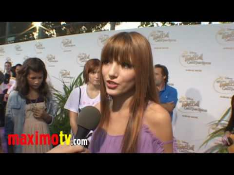 """Bella Thorne Interview at  """"Tinker Bell And The Great Fairy Rescue"""" Premiere"""