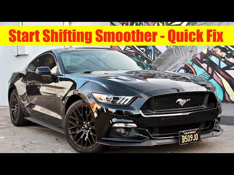 2015 Mustang GT (How To Shift Better) - Thud Noise - YouTube