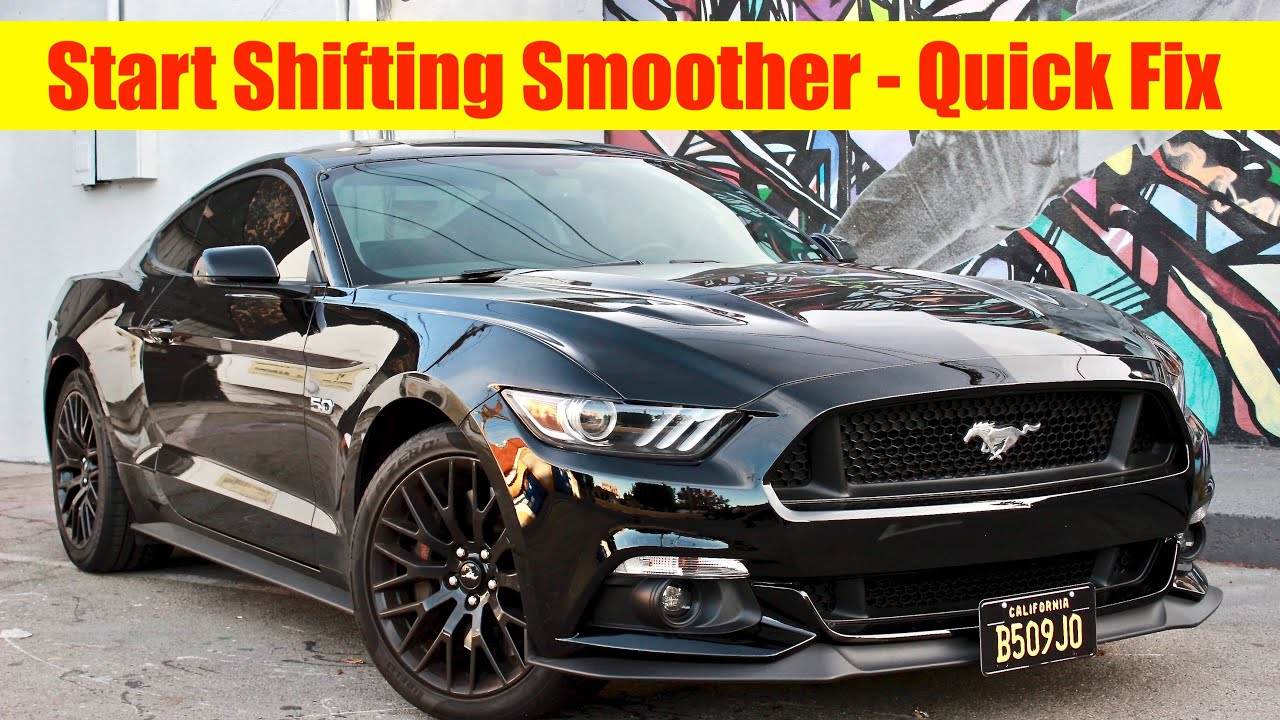 2015 Mustang GT (How To Shift Better) - Thud Noise