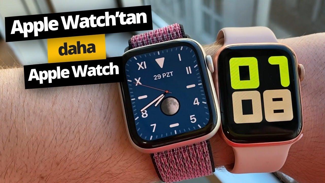 Apple Watch'tan daha Apple Watch akıllı saat! Smart Watch T500