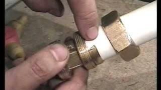 металлопластиковые  трубы -секрет соединение