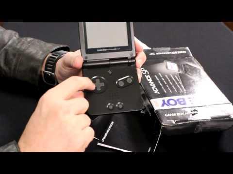 Retro: Game Boy Advance SP