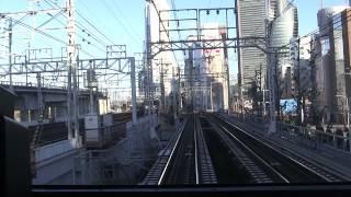 名鉄3100系(3123F)前面展望 中部国際空港→名鉄岐阜(ノーカット)