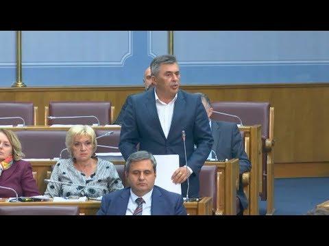 Đukanović - Pred našim očima se stvara Velika Albanija, Skupština CG, 29.11.2018.