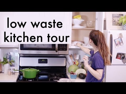 Low Waste Kitchen Tour | Alli Cherry