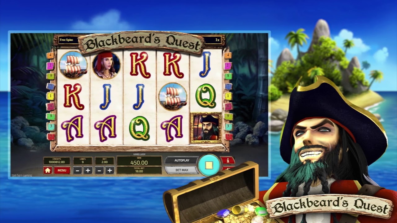 Blackbeard's Quest Slot Play Free ▷ RTP 96.3% & Medium Volatility video preview