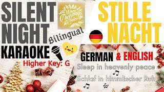 Download SILENT NIGHT/STILLE NACHT-Kim Walker Smith/Jesus Culture KARAOKE Higher Key(G) Instrumental w/lyrics Mp3 and Videos