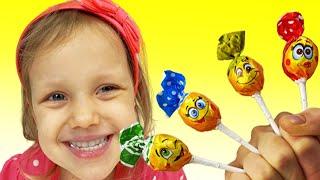 Canción de Color de la familia del dedo   Canción Infantil   Canciones Infantiles con Alex y Nastya