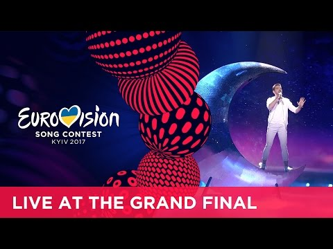Nathan Trent - Running On Air (Austria) LIVE at the Grand Final of the 2017 Eurovision Song Contest