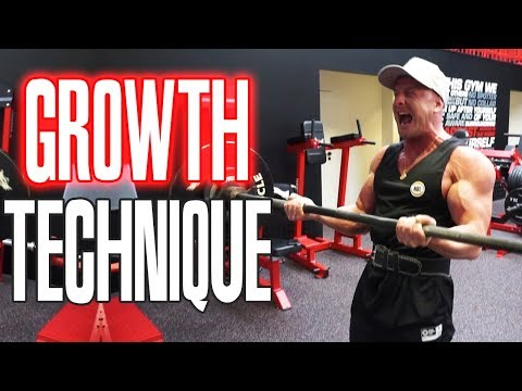 More Muscle Growth with Negative Reps!