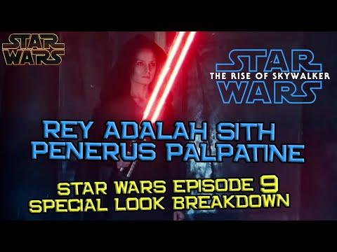 Dark Rey Bakal Jadi Penerus Palpatine | Star Wars The Rise of Skywalker Special Look D23 Breakdown