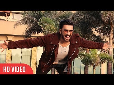 U Can't HATE this Man RANVEER SINGH at Simmba Promotion | Behind the Scene
