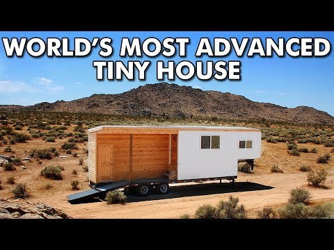 What is the world's most advanced off-grid tiny house?