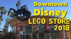 Lego Store Downtown Disney 2018 Store Tour Walkthrough