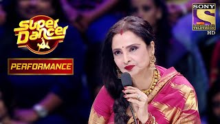 Rekha Is Mesmerised By Aishwarya And Shagun's Performance | Super Dancer Chapter 2