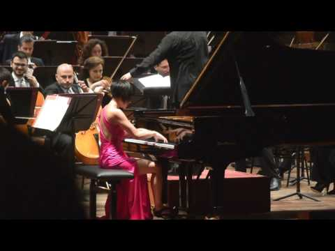 Yuja Wang - Tchaikowsky Concert n.1 Finale - Roma 2017-04-27