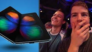 Samsung Galaxy Fold: Unsere Reaktion auf das faltbare Smartphone!