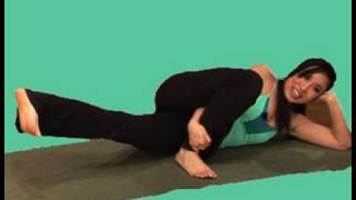 Diet.com Pilates Leg Silmming Workout Video