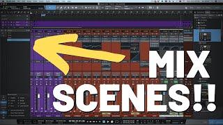 How Mix Scenes Work in #StudioOne