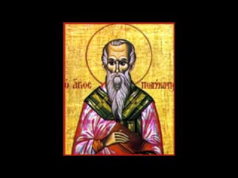 Vie de St Polycarpe de Smyrne (✝167)