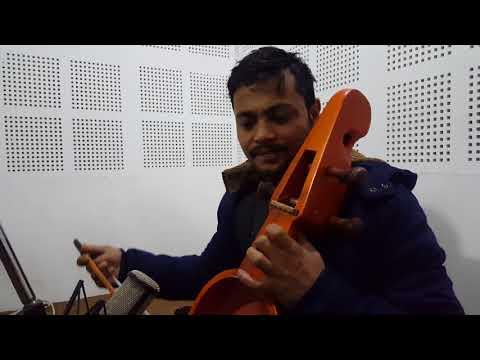 Nepali folk Musical instrument Sarangi (Hemant Kanchha)
