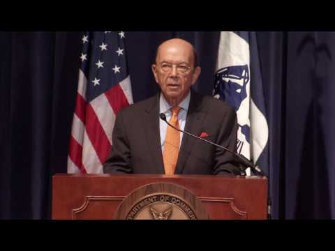 U.S. Secretary of Commerce Wilbur Ross Addresses Commerce Department Employees