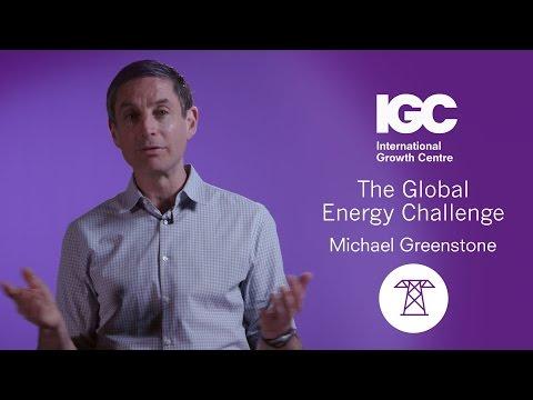 Michael Greenstone: The Global Energy Challenge
