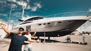 SHOULD WE CAMO RICKARD YACHT?! | VLOG³ 23
