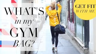 WHAT'S IN MY GYM BAG ? (Get Fit With Me #4) | SleepingBeauty