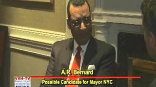 VVH-TV News Makers:  Interview of A.R. Bernard