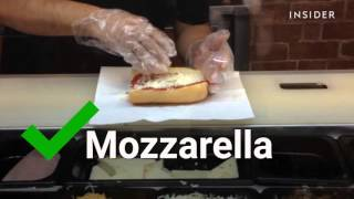 We tried the best item on Subway's secret menu - the pizza sub!
