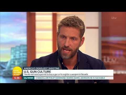 Security Analyst Mikey Kay Comments on the Las Vegas Massacre | Good Morning Britain
