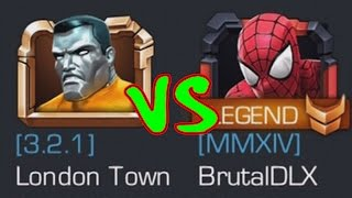 SUPER GAMING FAMILY vs BRUTALDLX | MARVEL: Contest of Champions (iOS/Android)