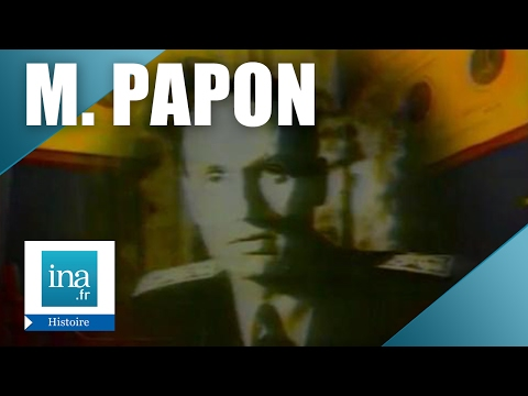 Le procès Maurice Papon   Archive INA