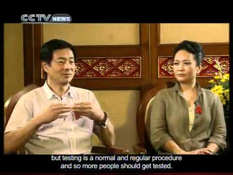 James Chau Interviews... Chinese military general Peng Liyuan