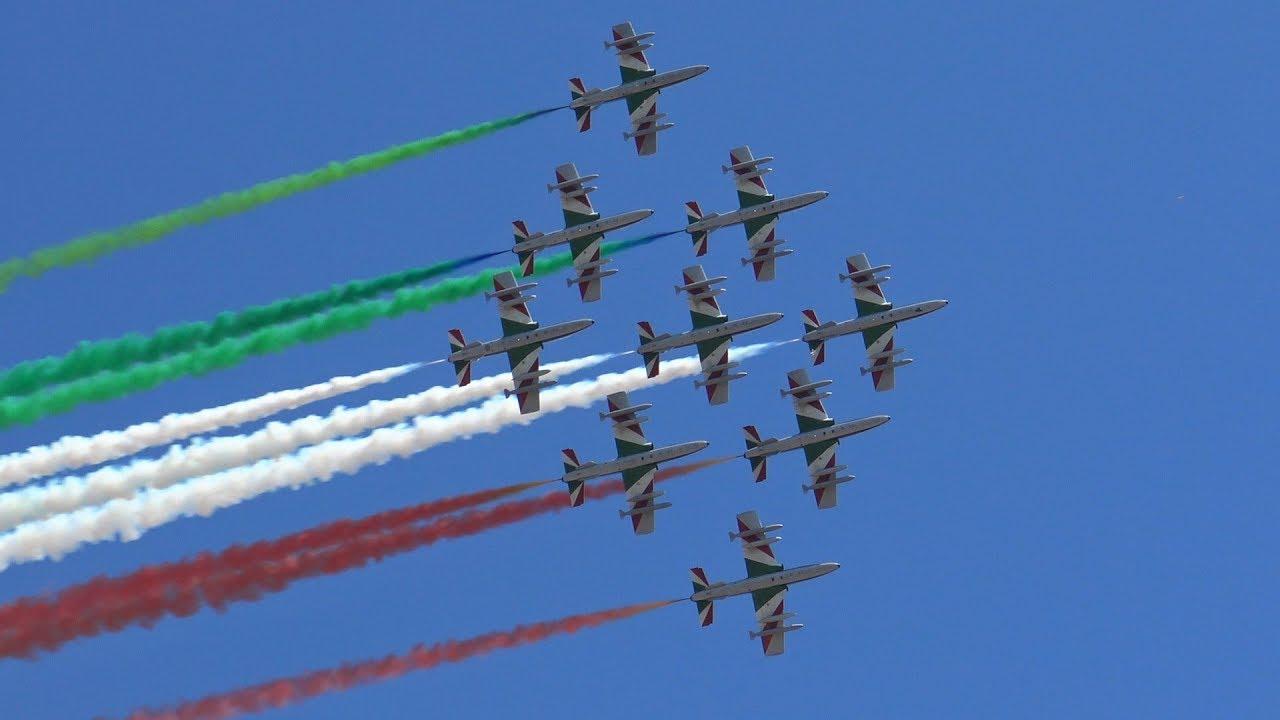 Sorvolo Frecce Tricolori Roma 2 Giugno 2019 Youtube