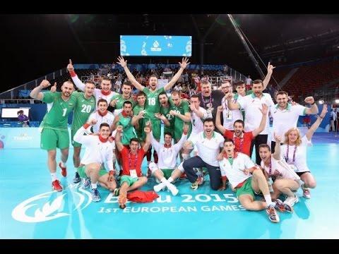 Volleyball European Games Baku 2015 - Bulgaria - Russia (Pool B)