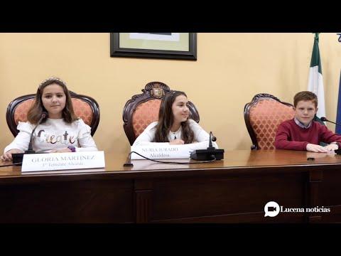 VÍDEO: Los niños llevan sus peticiones al pleno y reivindican que sus opiniones sean más tenidas en cuenta.