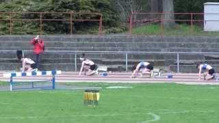 championnat provincial 200 m femme Namur 28 avril 2013